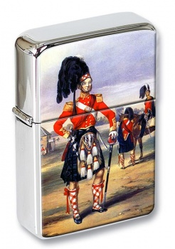 Royal Scots Officer Flip Top Lighter