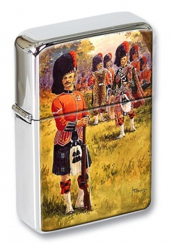 Scottish Soldiers Flip Top Lighter
