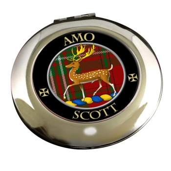 Scott Scottish Clan Chrome Mirror