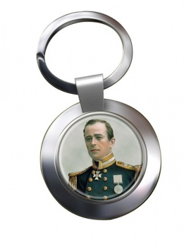 Robert Falcon Scott Chrome Key Ring