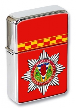 Scottish Fire and Rescue Flip Top Lighter