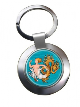 Scylla Metal Key Ring