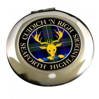 Seaforth Highlanders Scottish Clan Chrome Mirror