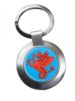 Sea Griffin Metal Key Ring