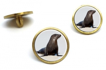 Sea Lion  Golf Ball Marker Set