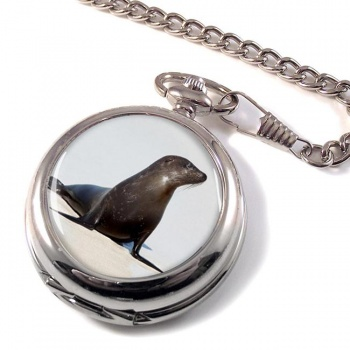 Sea Lion Pocket Watch