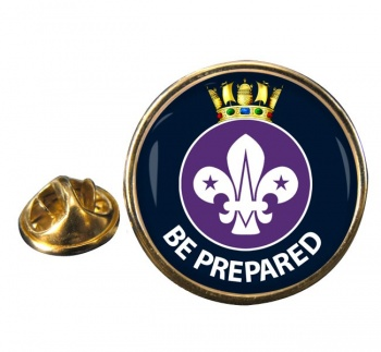 Sea Scouts Round Pin Badge