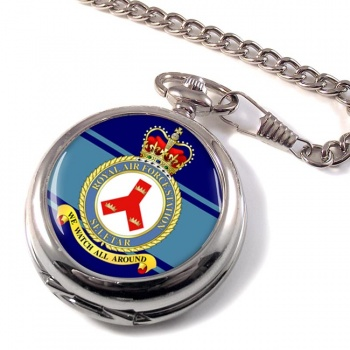 RAF Station Seletar Pocket Watch