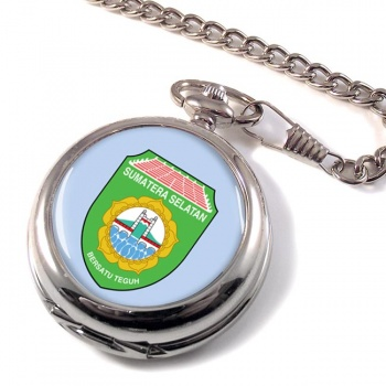 Sumatera Selatan (Indonesia) Pocket Watch