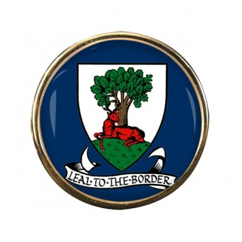 Selkirkshire (Scotland) Round Pin Badge