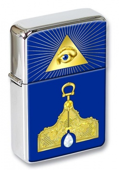 Masonic Lodge Senior Warden Flip Top Lighter