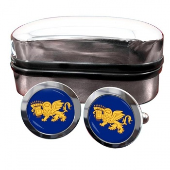 Septinsular Republic (Greece) Crest Cufflinks