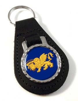 Septinsular Republic (Greece) Leather Key Fob