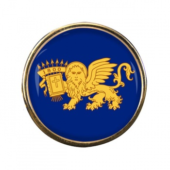 Septinsular Republic (Greece) Round Pin Badge
