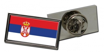 Serbia  Flag Pin Badge