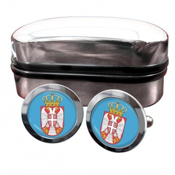 Coat of Arms (Serbia) Crest Cufflinks