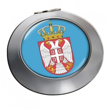 Coat of Arms   (Serbia) Round Mirror