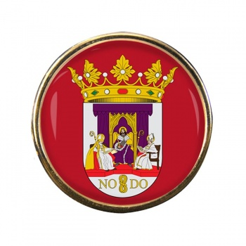 Seville Sevilla (Spain) Round Pin Badge