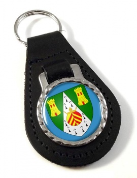 South Glamorgan  Leather Key Fob