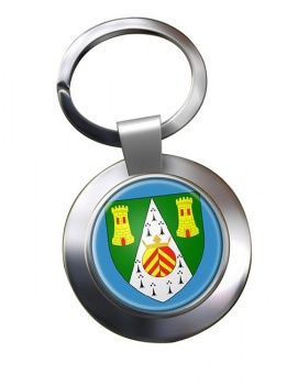 South Glamorgan  Metal Key Ring
