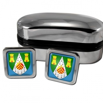 South Glamorgan  Square Cufflinks