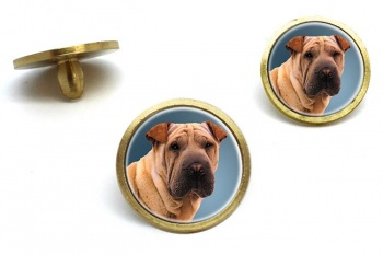 Shar Pei  Golf Ball Marker Set
