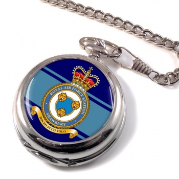 RAF Station Shawbury Pocket Watch