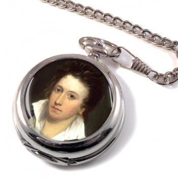 Percy Bysshe Shelley Pocket Watch