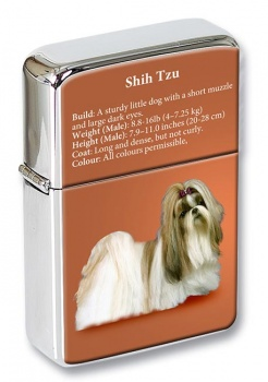 Shih Tzu Flip Top Lighter