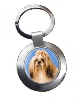 Shih Tzu Metal Key Ring
