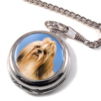 Shih Tzu Pocket Watch
