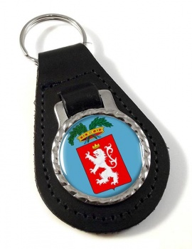 Siena (Italy) Leather Key Fob