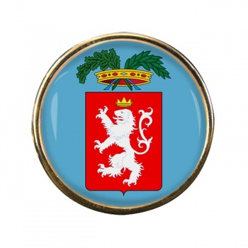 Siena (Italy) Round Pin Badge