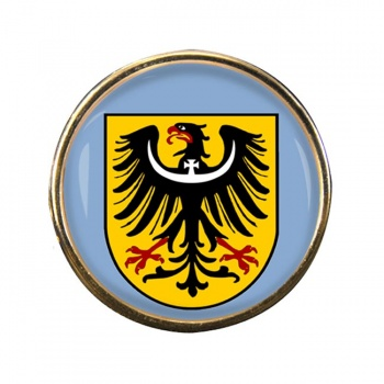 Schlesien Silesia (Germany) Round Pin Badge