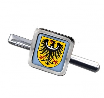 Schlesien Silesia (Germany) Square Tie Clip