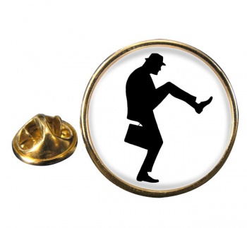 Ministry of Silly Walks Round Pin Badge