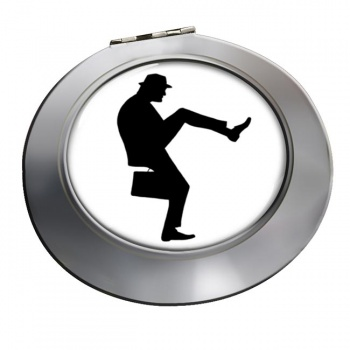 Ministry of Silly Walks Chrome Mirror