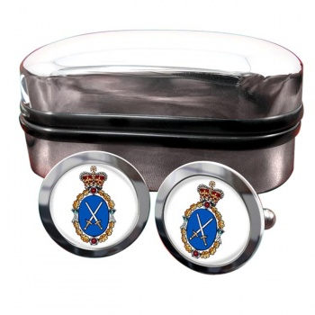 High Sheriff Round Cufflinks