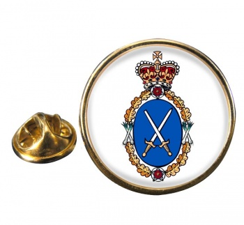 High Sheriff Round Pin Badge