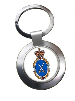 High Sheriff Chrome Key Ring