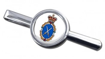 High Sheriff Round Tie Clip