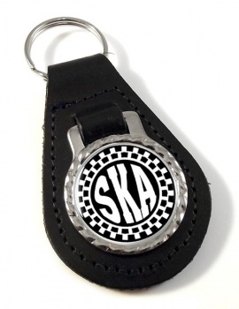 Ska Leather Key Fob
