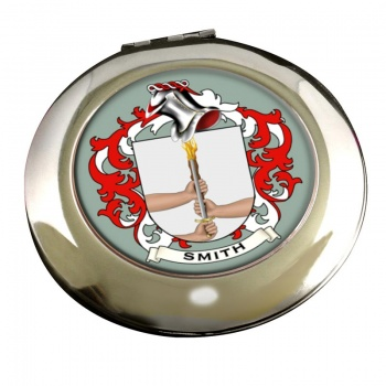 Smith Ireland Coat of Arms Chrome Mirror