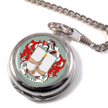 Smith Ireland Coat of Arms Pocket Watch