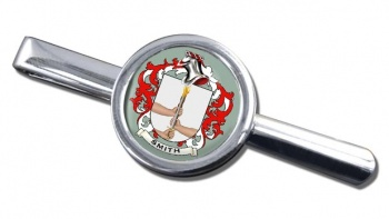 Smith Ireland Coat of Arms Round Tie Clip