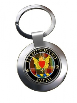 Smith Scottish Clan Chrome Key Ring