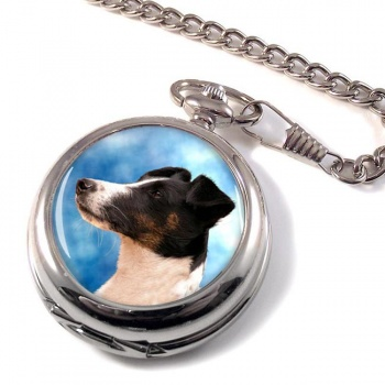 Smooth Fox Terrier Pocket Watch