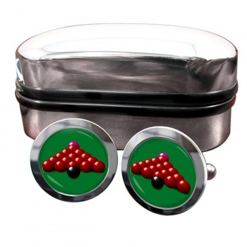 Snooker Round Cufflinks