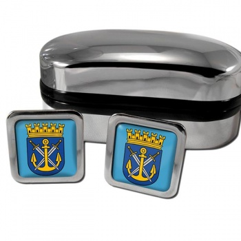 Solingen Germany Square Cufflinks