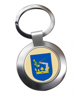 Somogy County Metal Key Ring